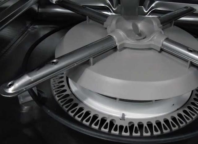 Bộ lọc tự làm sạch trên máy rửa bát