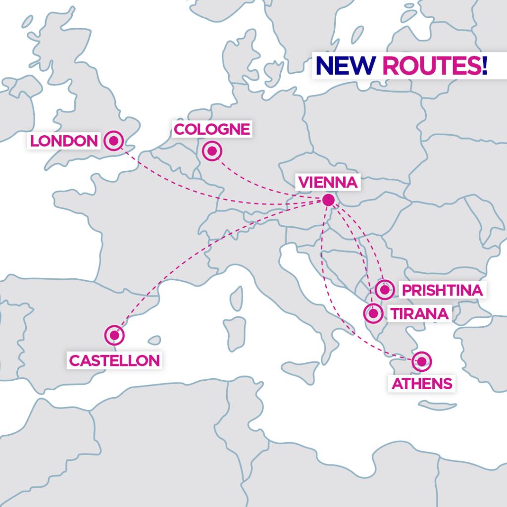 H Wizz Air φέρνει πτήση προς Βιέννη με 19.99€ 1