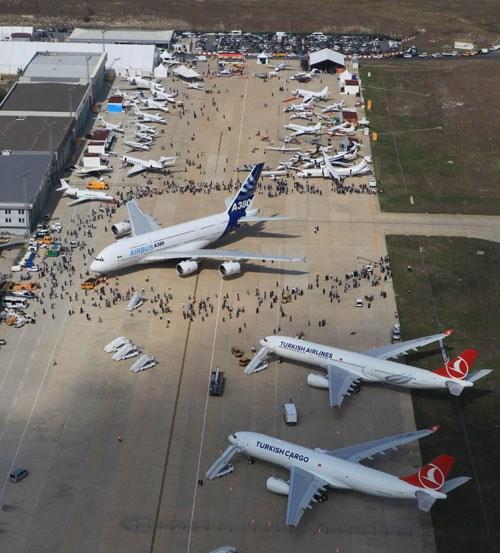 Airbus A380 İstanbul'da