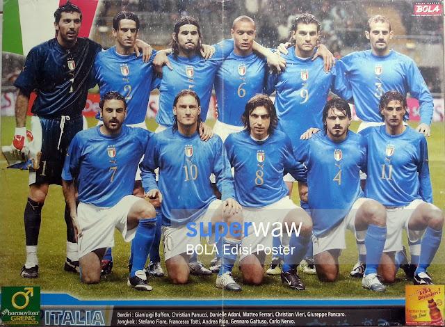Poster Tim Italia 2004