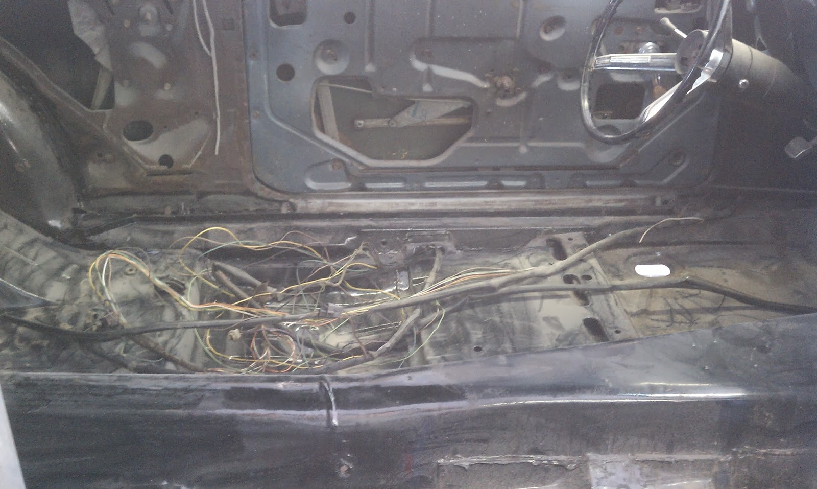 small resolution of this car is 45 years old and so is the wiring back then a wiring harness was only really designed to last 10 years