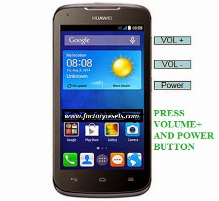 HUAWEI-ASCEND-Y520-HARD-RESET