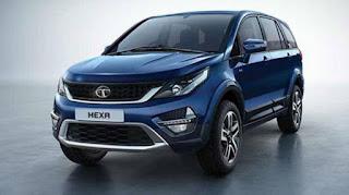 Tata Hexa XM + Variants Launch in India