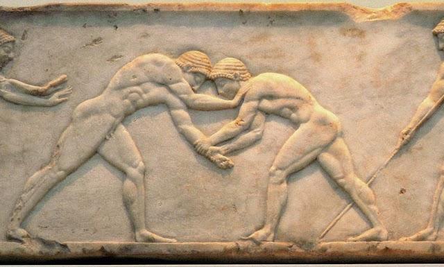 Η εξέλιξη του αγωνιστικού ιδεώδους από την αρχαϊκή περίοδο έως την κλασική εποχή
