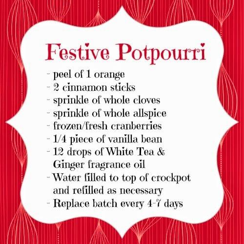 Festive Potpourri Recipe