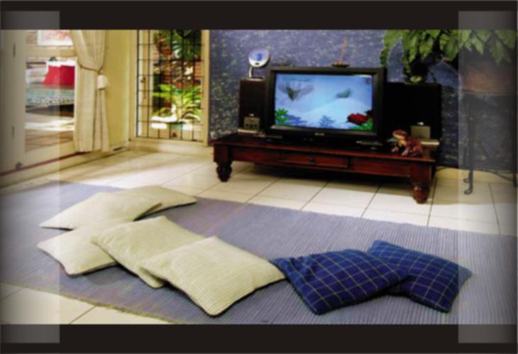 Dekorasi Ruang Tamu Tanpa Sofa Desainrumahid