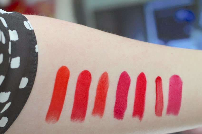 beauty bright lips lipsticks swatches