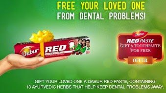 Get Free Sample of Dabur Red Tooth Paste