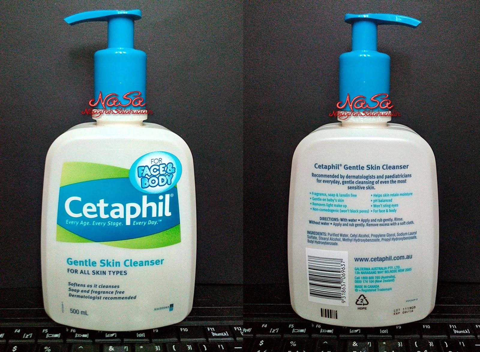 Review Cetaphil Gentle Skin Cleanser Nasa 500 Ml 500ml Apa Barang Botol Kecik Kita Beli Besar Terus
