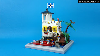 [MOC] Mały żołnierski fort oraz... ukryty pirat
