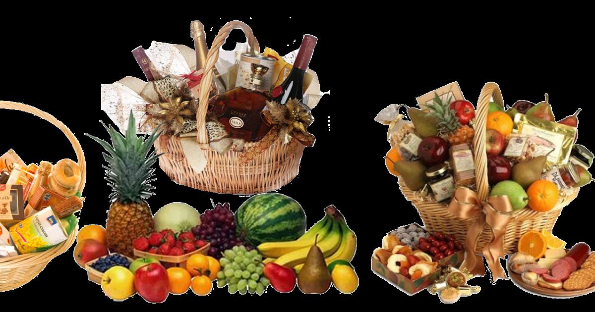 Поздравление продуктами питания