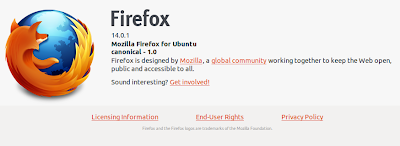Upgrade to Fireox 14.0.1 in Ubuntu 12.04 LTS