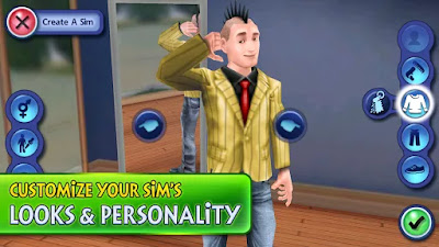 The Sims 3 APK+DATA Full MOD Unlimited Money