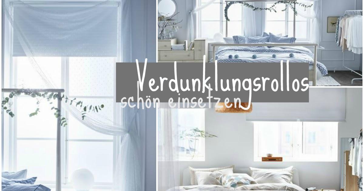 interior] schlafzimmer verdunkelungsmöglichkeiten und diy betthimmel - Rollos Für Schlafzimmer