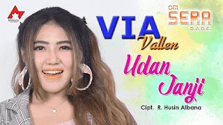 Lirik Lagu Udan Janji - Via Vallen
