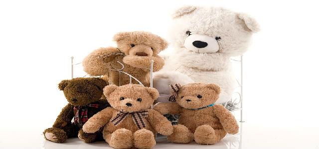 família urso de pelúcia