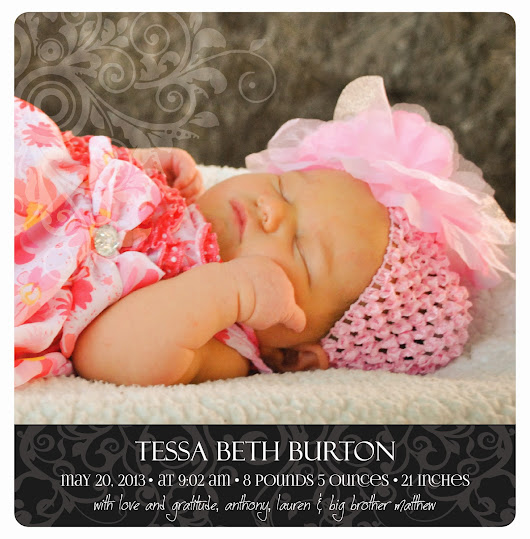 Introducing Tessa Beth Burton