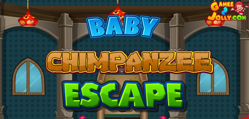 Baby Chimpanzee Escape Wa…