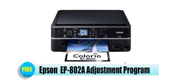 Epson  EP-802A Adjustment Program