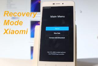 cara masuk recovery mode Xiaomi