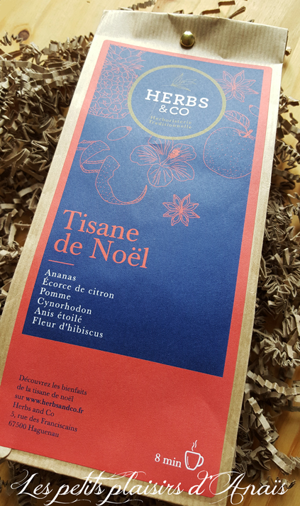 tisane de noël herbs and co sachet
