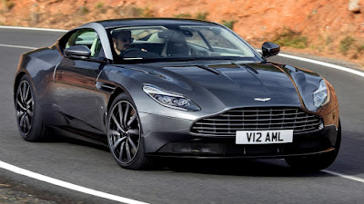 New 2017 Aston Martin DB11 coupe car