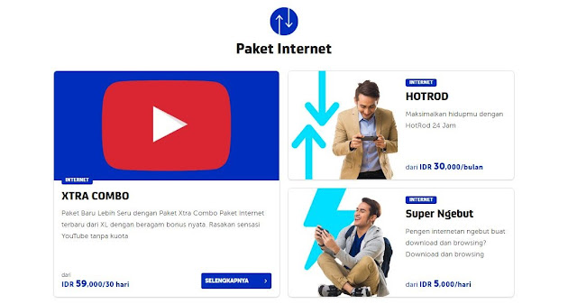 paket internet XL bonus Kuota Youtube