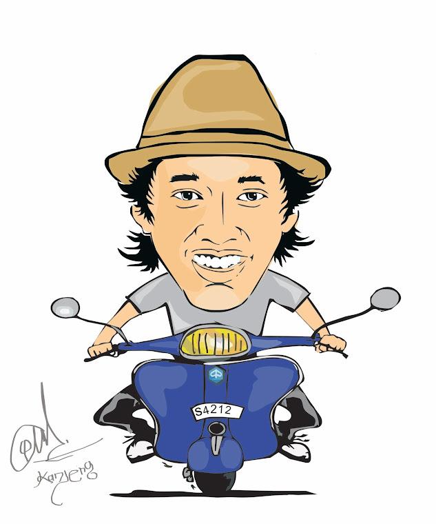 Download 100+ Gambar Kartun Lucu Naik Vespa Paling Lucu