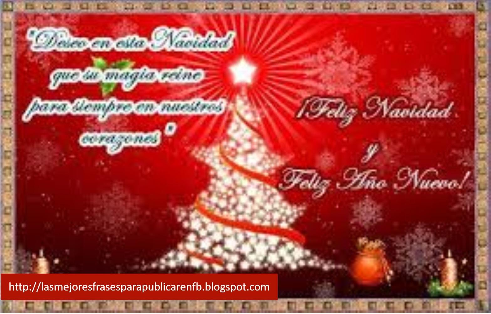 Las Mejores Frases Para Publicar En Fb Frases De Navidad Y
