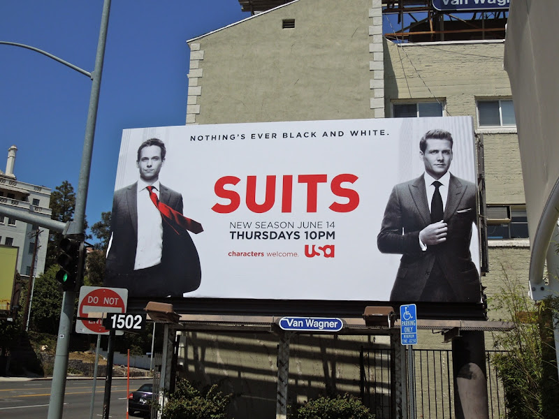 Suits season 2 billboard