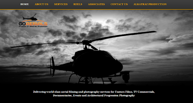 Trusted provider of aerial filming, cinematography and photography services