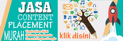 Jasa Backlinks (Content Placement) Berkualitas dan Murah di BacaNulis.com