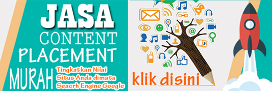 jasa backlinks (content placement) berkualitas dan murah meriah