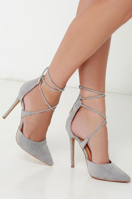 Grey-Suede-Lace-Up-Heels