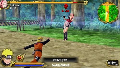 Naruto Shippuden Legends Akatsuki Rising PSP