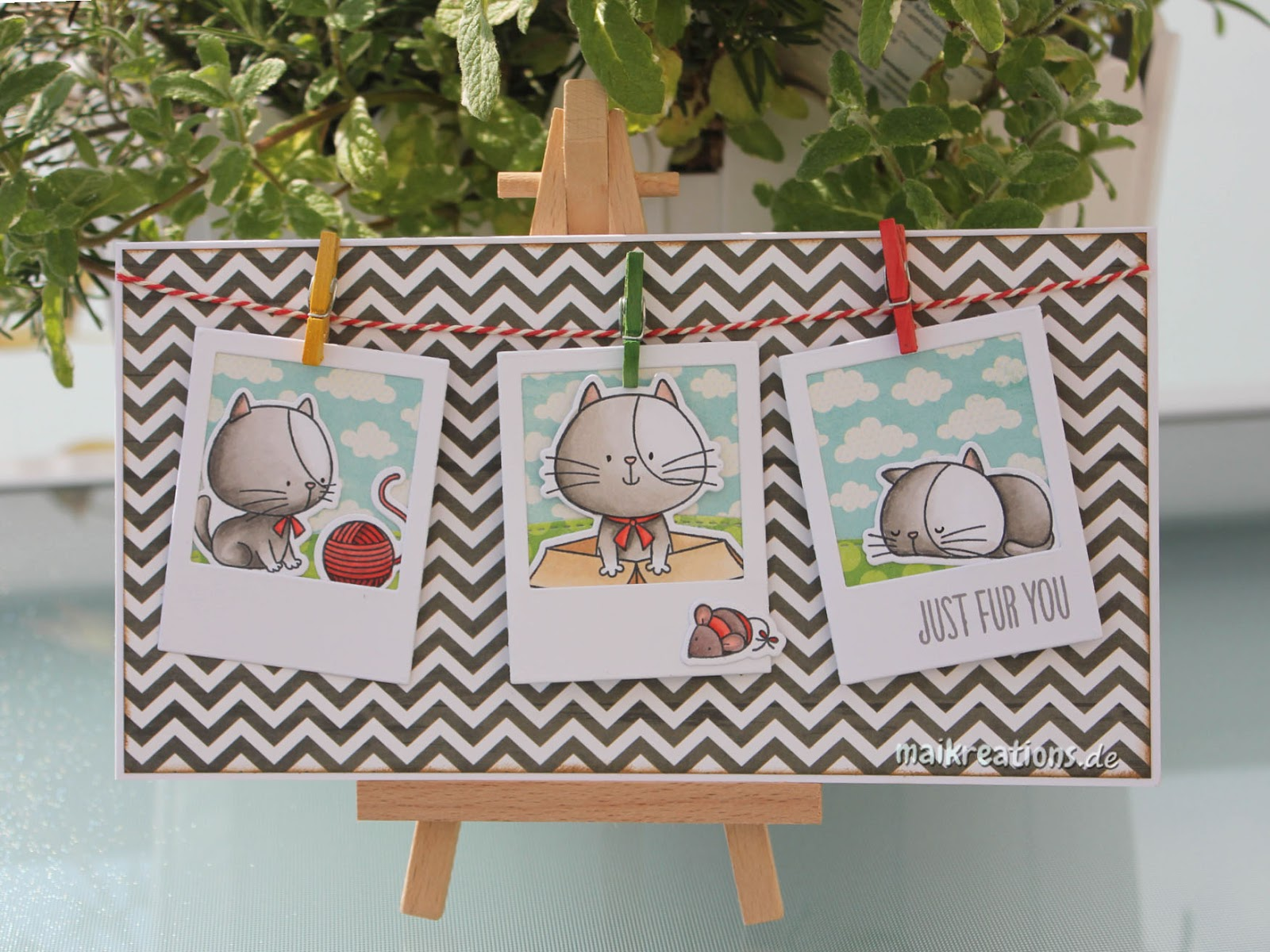 To Have Fun And Craft O I Already Started On The Crafting Part Made A Card Using Cute Knead You Stamp Set By MFT
