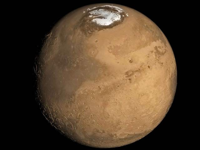 Filled With Water On Mars 'Lake' Discover