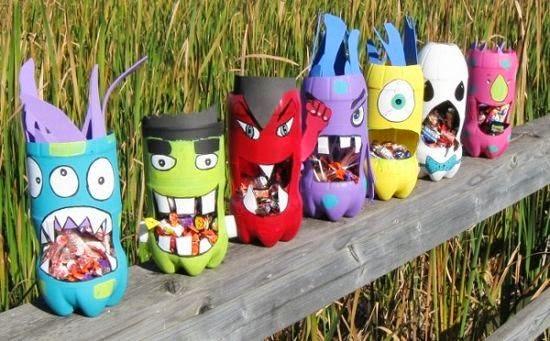 Kerajinan Tangan dari Barang Bekas, Aneka Kreasi Botol Plastik Bekas 20