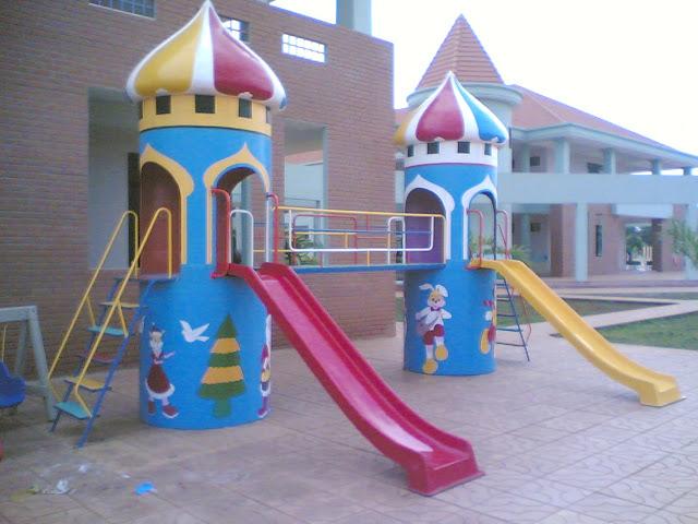 Thiết kế khu vui chơi liên hoàn ngoài trời cho trẻ em tại tphcm