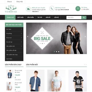 template blogspot bán hàng thời trang