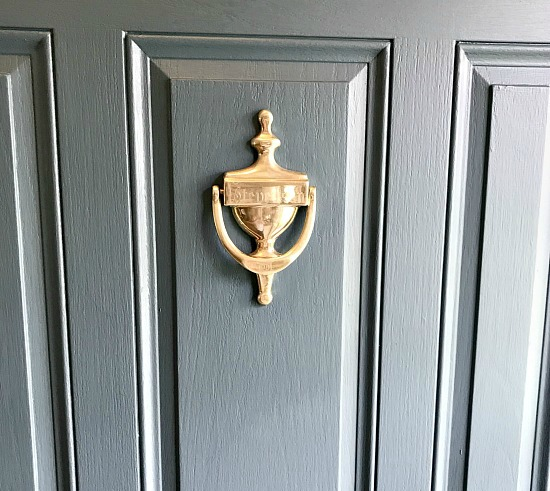 front door knockers  Painting the Front Door | Homeroad