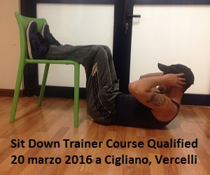 Sit Down Trainer Course Qualified, 20 marzo 2016 a Cigliano, Vercelli