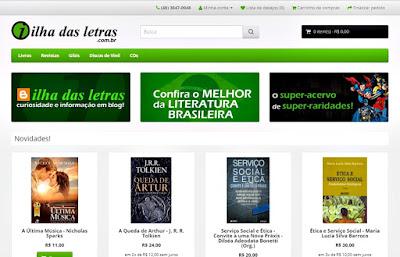 Ilha das Letras Sebo