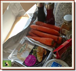 Vie quotidienne de FLaure : Quenelles de brochet au curry sur un lit de carottes