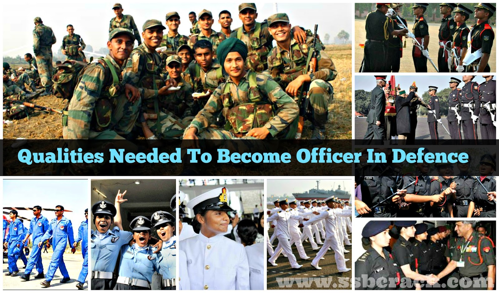 Qualities Needed To Become Officer In Defence