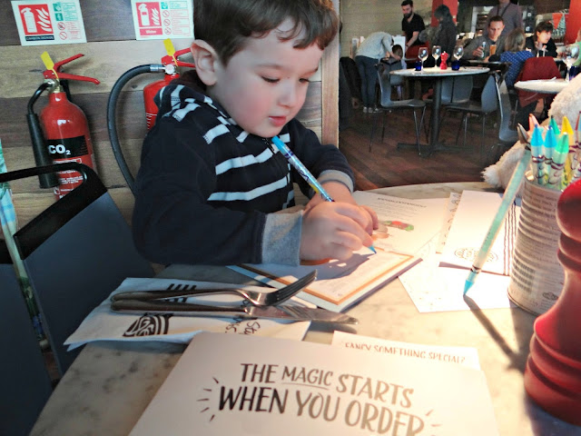 Pizza Express Kids Menu