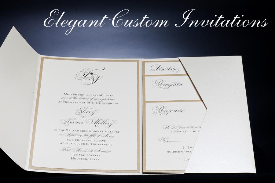 Pocketfold Wedding Invitations Wholesale: Wedding Invitations Houston