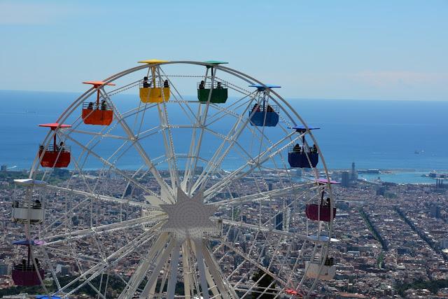 Tibidabo Amusement Park ferris wheel