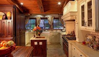 cocina muebles de madera