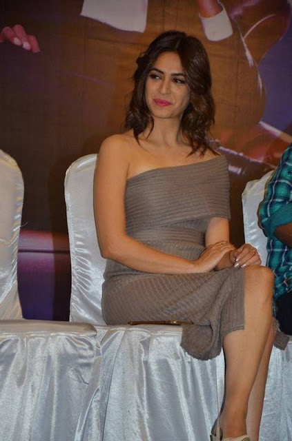 Kriti Kharbanda Hot at Bruce Lee Tamil Movie Press Meet